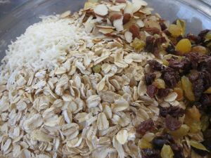 Mark Bittman's Muesli, under construction