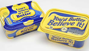 Believe it--It's NOT butter