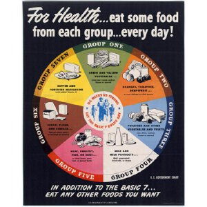 1984 Food Wheel